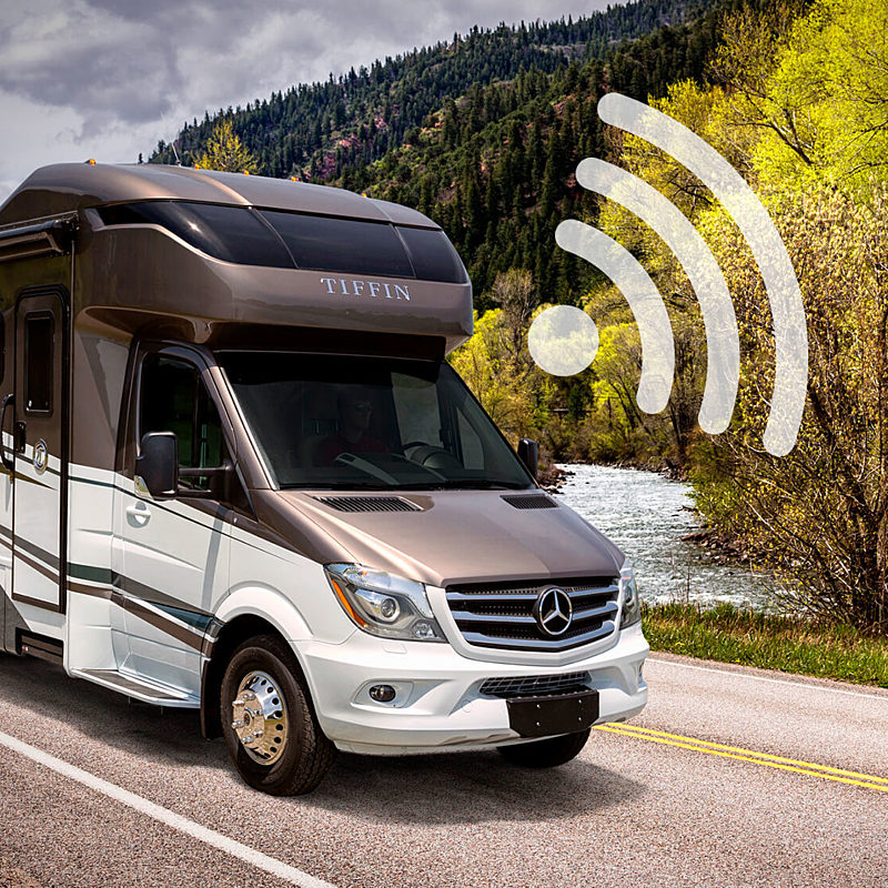 How to Setup an Internet Connection in Your Motorhome | Tiffin