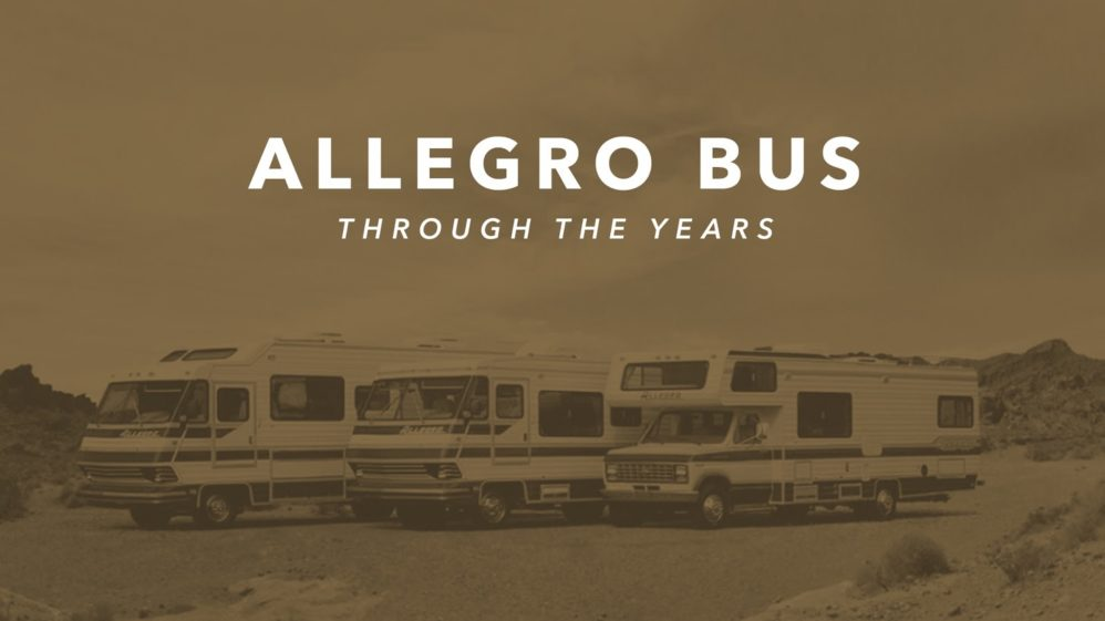 The Allegro Bus Through the Years | Tiffin Motorhomes on